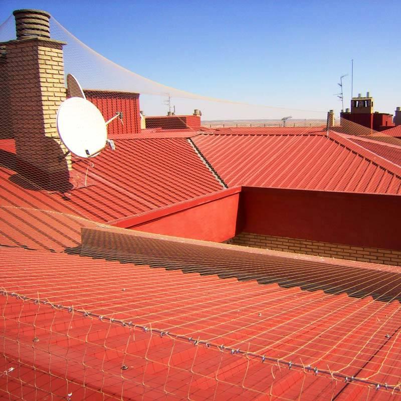 Red en tejado
